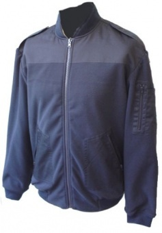 Fleecejacke mit Windliner
