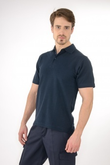 Polo Shirt Aufdruck orange